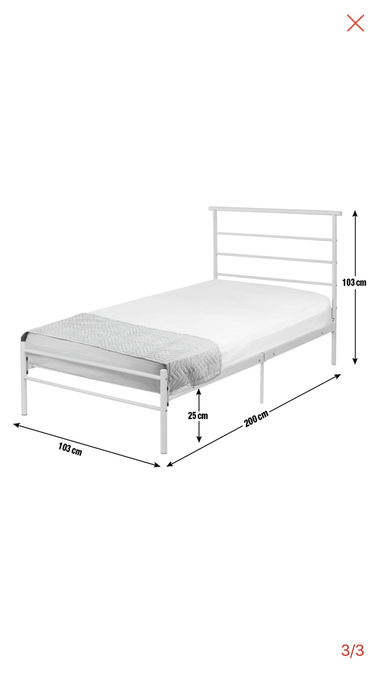 For Sale 2 Brand New Unused Matching Single Metal Bed Frames Memory Foam Mattress Buy And