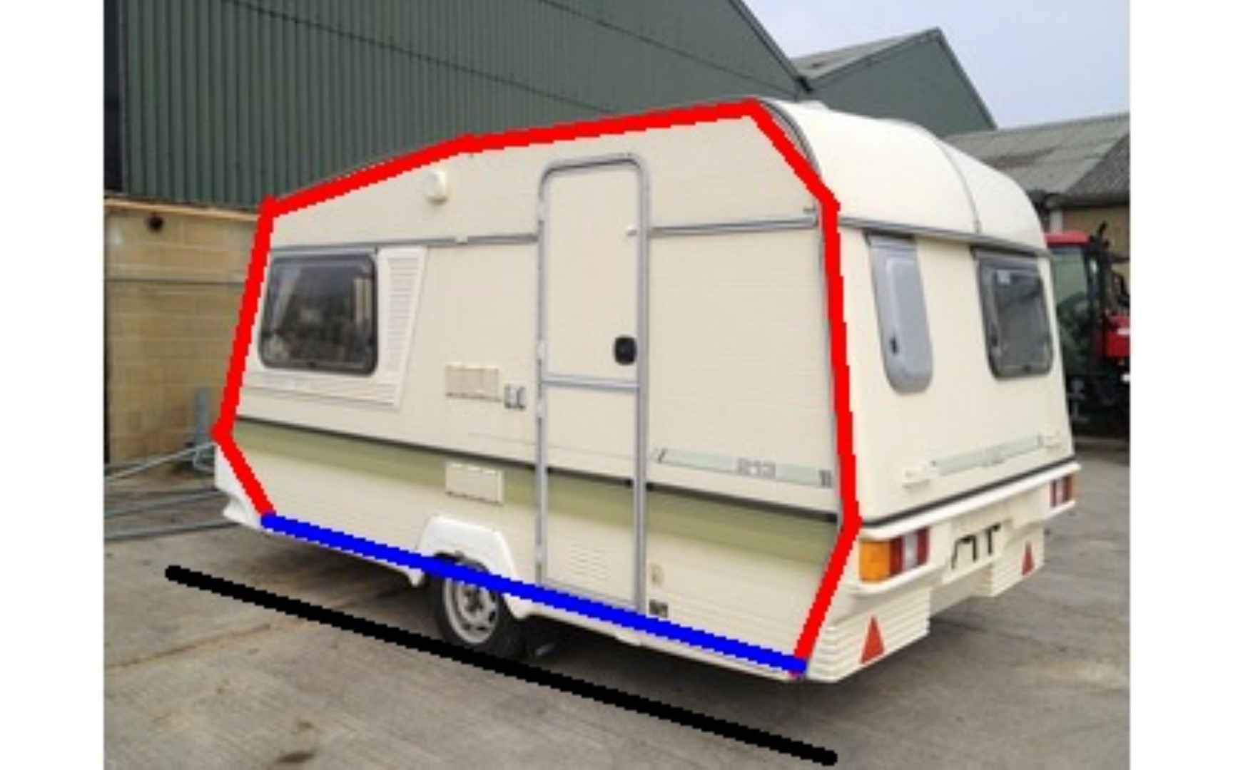 For sale: REDUCED Ticamo Calonge caravan awning, like new