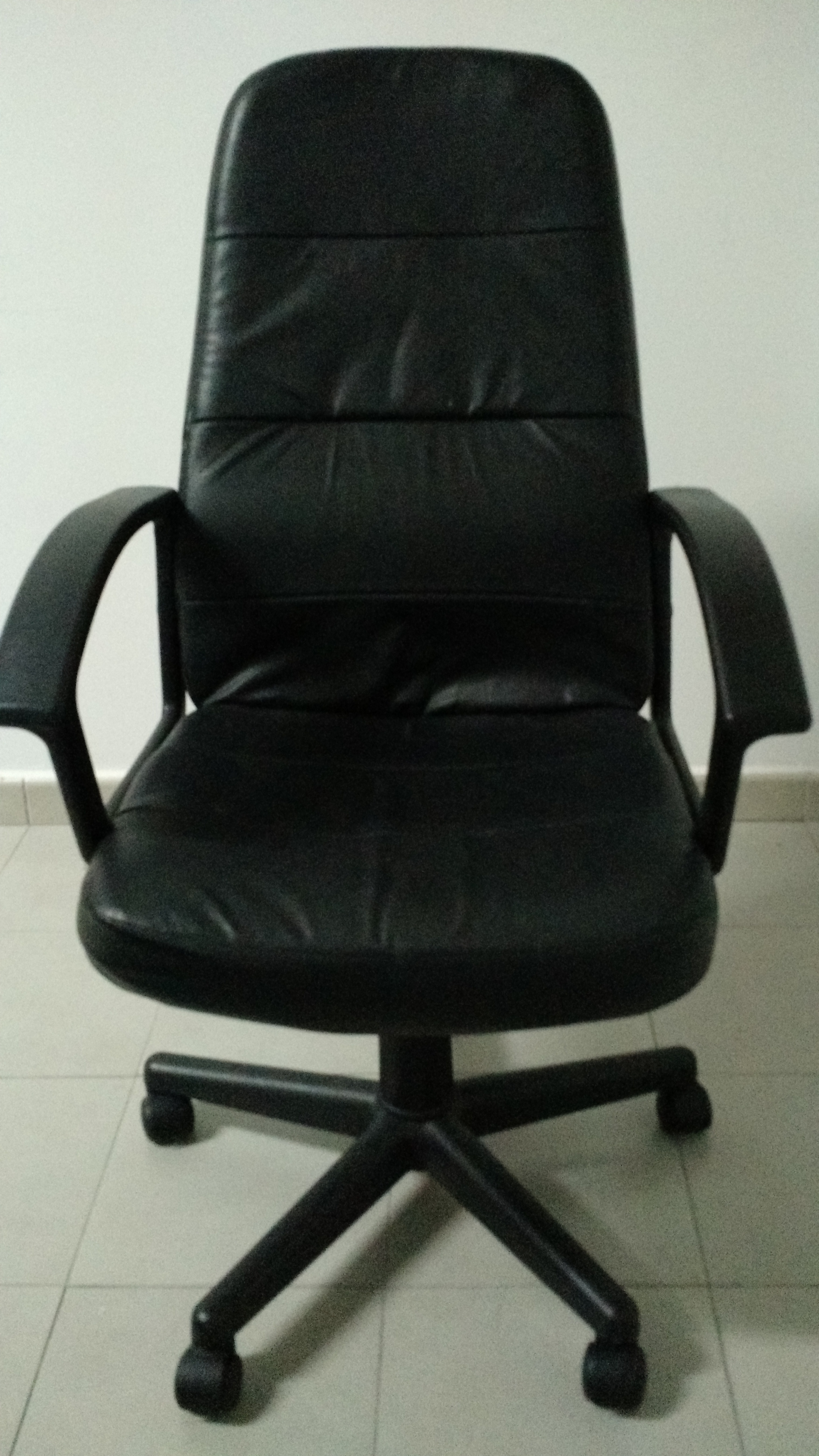 for sale office chair black faux leather buy and sell items in