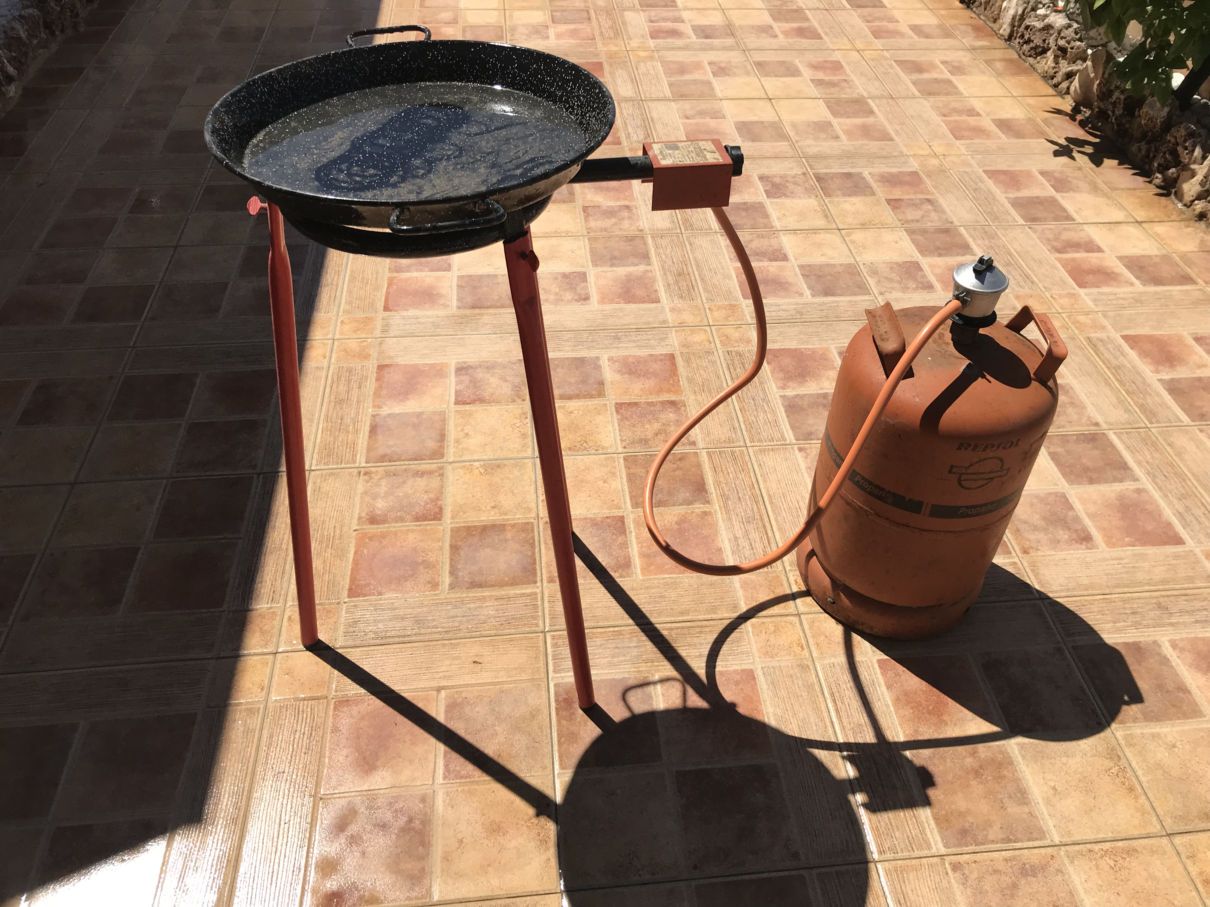 For sale: Gas barbecue