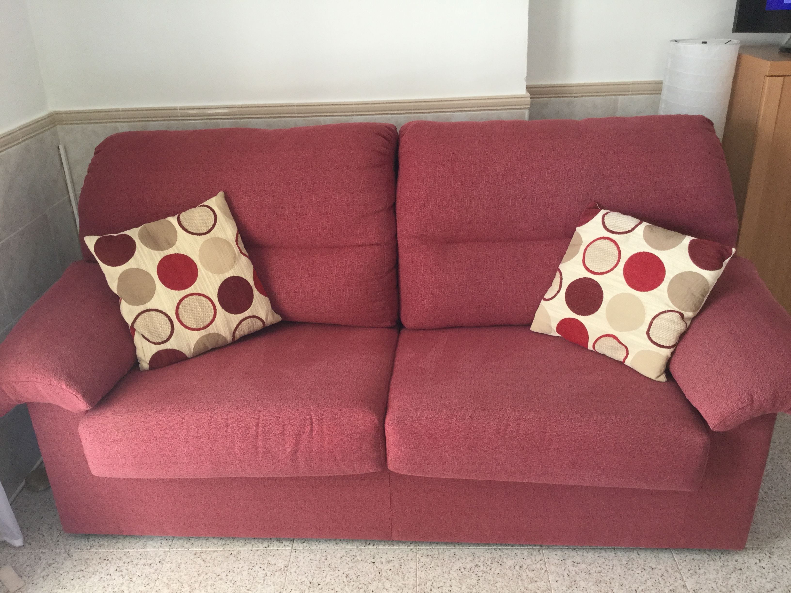 For sale: 1 x 3 seater sofa bed and matching 2 seater sofa ...
