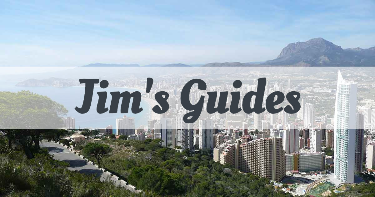 Jim's guides - your complete guide to Spain