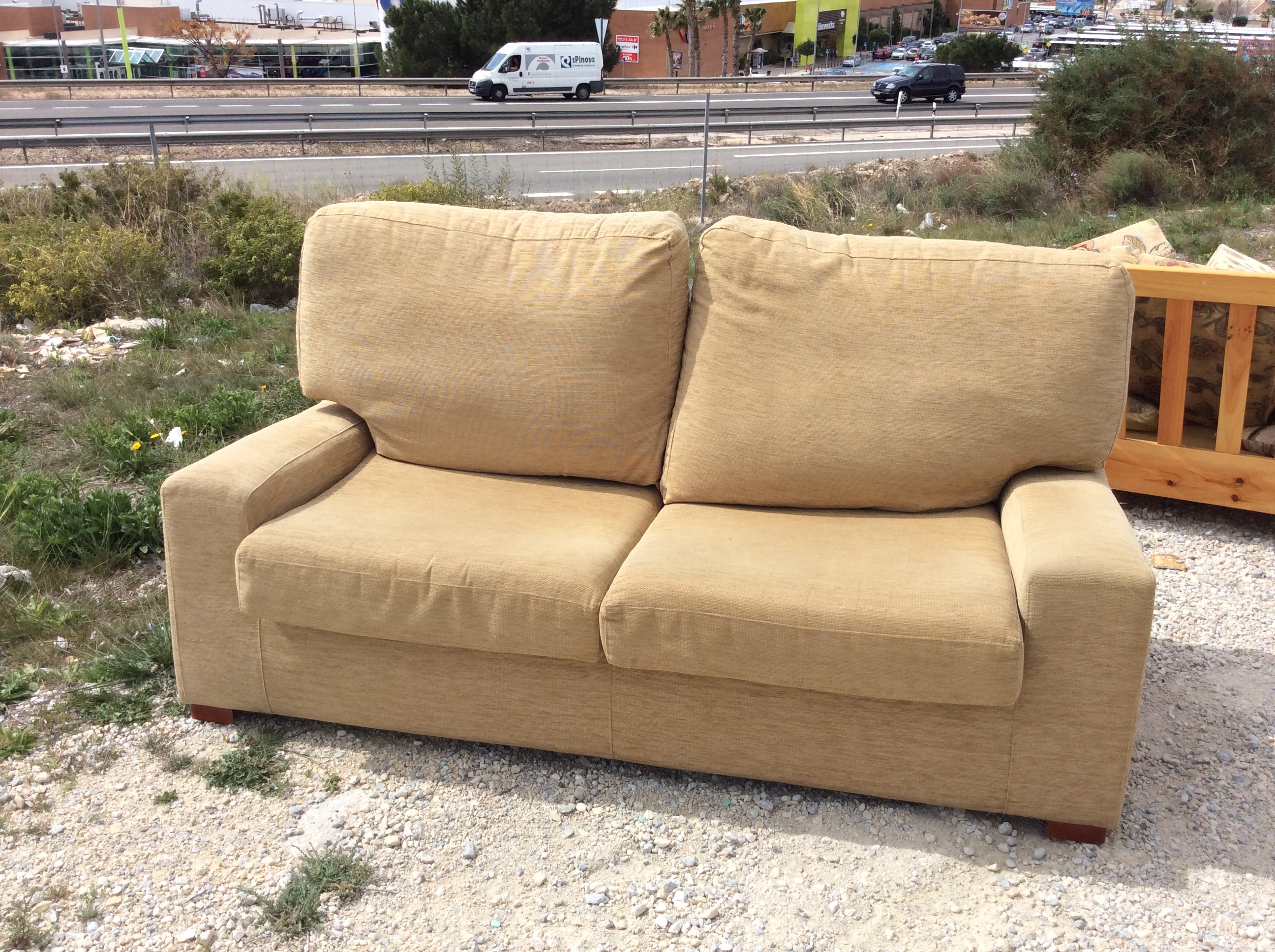 For sale: 3 seater sofa bed - Buy and sell items in Villena ...