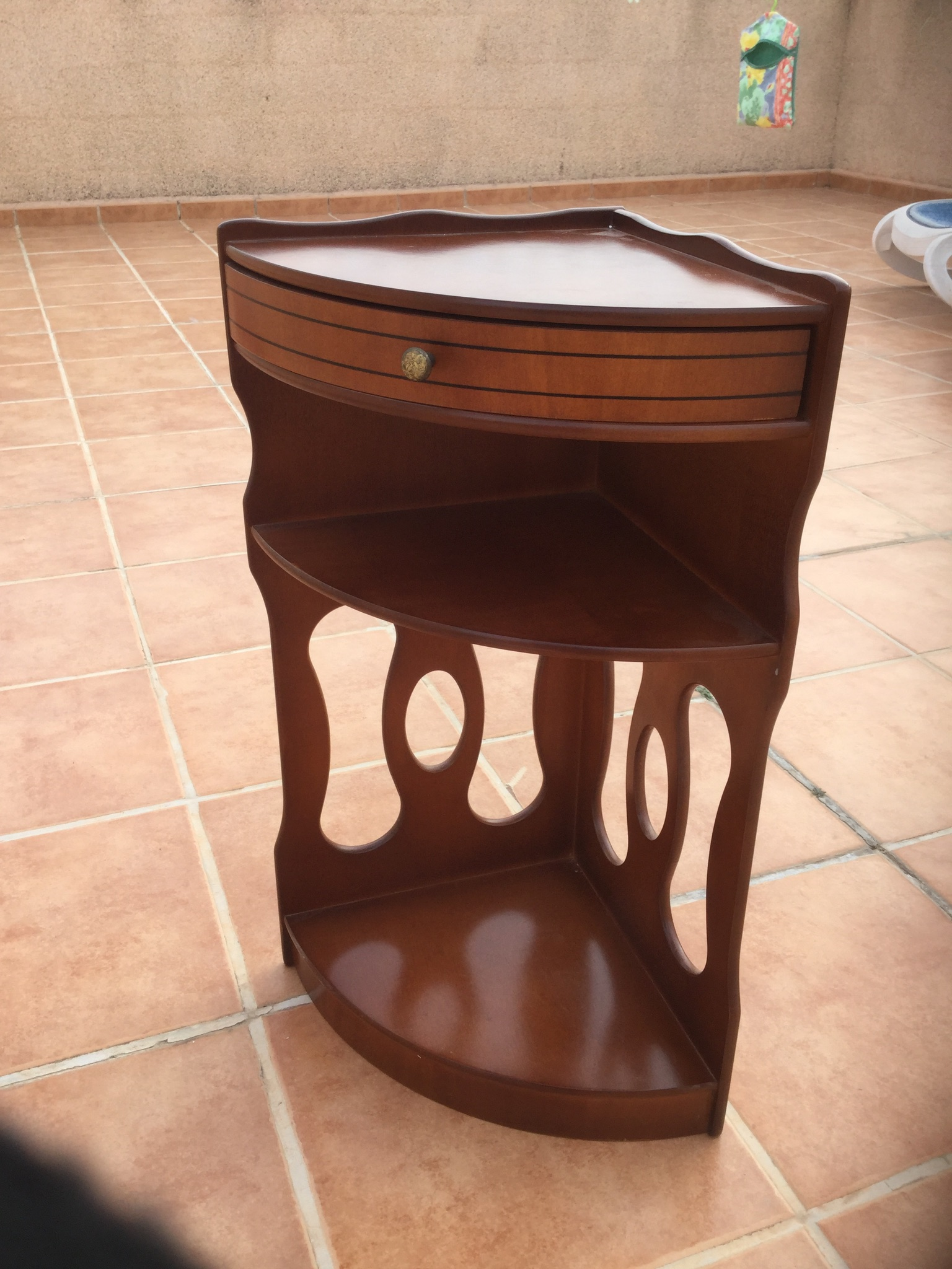 For sale: corner unit in mahogany sold