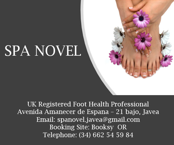 Spa Novel - UK Registered Foot Health Professional