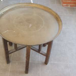 For sale: Very heavy brass morrocan table - €100