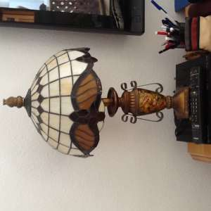 For sale: Lamp with Tiffany shade