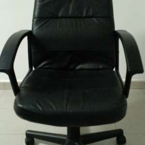 For sale: Office Chair Black Faux Leather