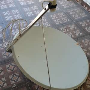 For sale: 1.2m sat dish with brackets - €40