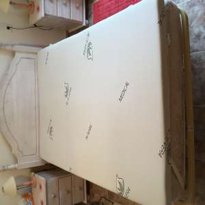 For sale: Double deluxe mattress topper 190cmX135cm