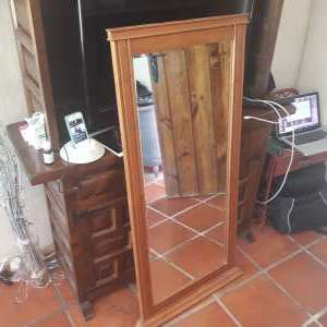 For sale: Pine Framed Mirror - €20