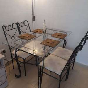 For sale: Table and chairs - €100