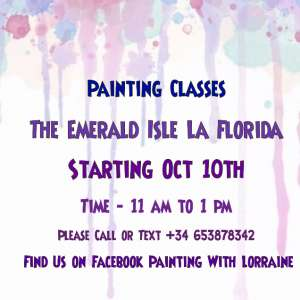 Painting Classes La Florida