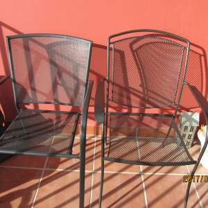 Wanted: Metal chairs for terrace