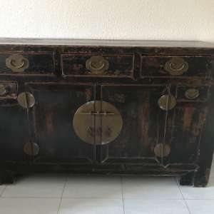 For sale: Colonial Style Antique Chinese Chest 1890 - €500