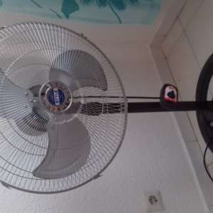 For sale: Powerful 3 speed fan on stand. Free