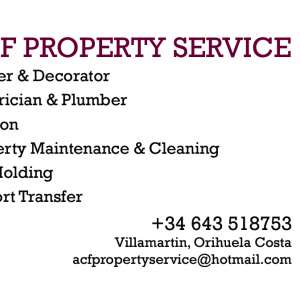 Acfproperty service