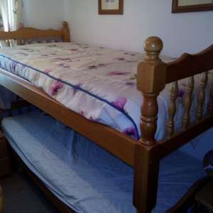 For sale: TWO SET OF WOODEN BUNK BEDS CW MATTRESSES - €50