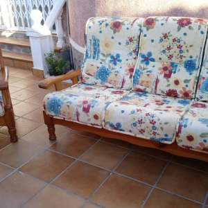 For sale: Single seater & 3 seater pine sofa set - €60