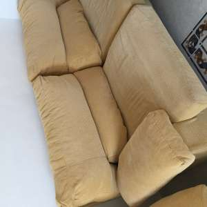 For sale: 2 Seater sofa and 3 seater sofa bed - €250
