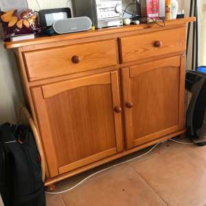 SOLD : Dining Room Sideboard - €40