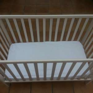 SOLD: Cot with mattress  €25