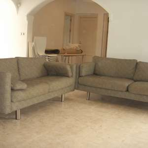 For sale:SOLD  2 seater and 3 seater sofas - €200