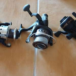 For sale: Carp fishing reels