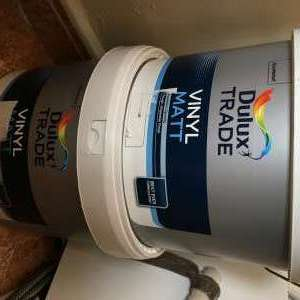 For sale: Dulux Trade paint