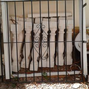 For sale: security grilles