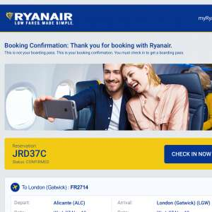 2 Unwanted Ryan Air Flights