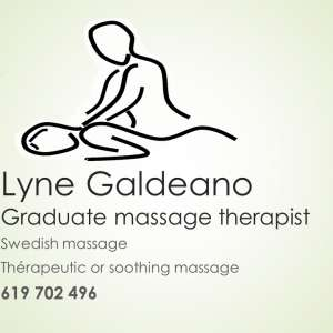 Lyne Galdeano massage therapist