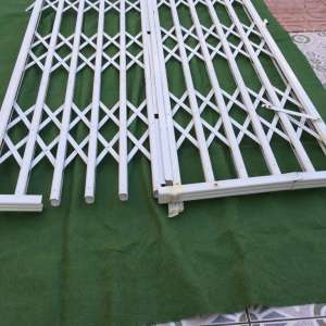 For sale: Security grills