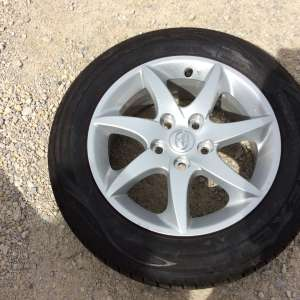 For sale: Toyota Alloy wheel and tyre ,,,,both brand new and unused - €70