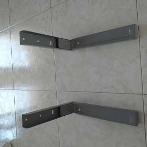 For sale: Silver universal microwave wall mounts