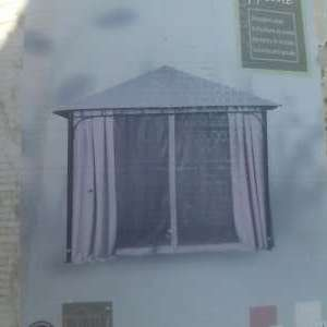 For sale: Gazebo. BRAND NEW 3x3x2.7 metre .metal .complete with curtains.cream.Totally unopened.Bought in carrefour a few years ago . - €150