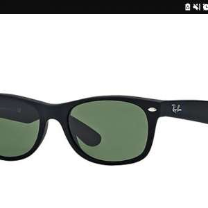 Lost: Ray Ban Sunglasses  Black mate with green tinted lens