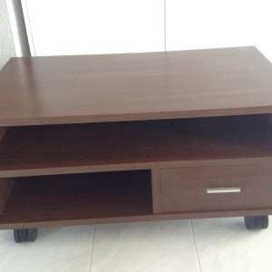 For sale: Tv cabinet on wheels. - €50
