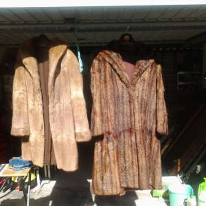 For sale: Mink coat
