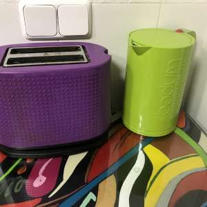 For sale: Bodum toaster and kettle - €40