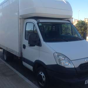 For sale: Lhd iveco daily Luton van with tail lift