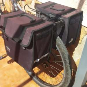 For sale: bike carrier and panniers
