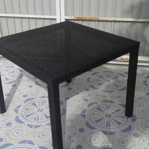 For sale: NEW RATTAN TABLE 90CM X 90CM - €40
