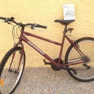 For sale: SOLD SUBJECT TO COLLECTION BTWIN ROCKRIDER 5.0 MOUNTAIN BIKE~UNISEX  HARDLY USED - €80