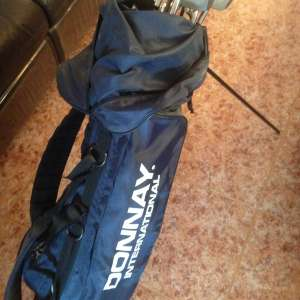 For sale: Sofa recliner / golf bag & clubs / kitchenware