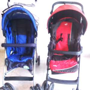 For sale: 2 Pushchairs( Blue one sold ) - €15