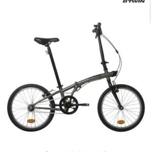 For sale: New Btwin Fold Up Bike