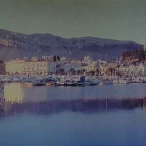 For sale: Denia, large photograph mounted on board, ready to hang