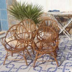 For sale: 4 x Cane Chairs