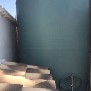 For sale: 12000 litre fresh water tank with electric pump. - €1,200